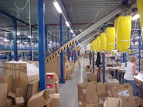 Silos für Verpackungsindustrie