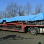 Planenabdeckung für Transport